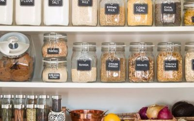 How To Use Pantry Organization To Meet Healthy Eating Goals