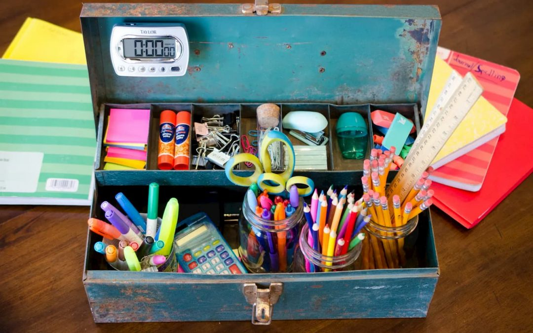 5 Back to School Organization Tips